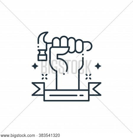 mechanic icon isolated on white background from labor day collection. mechanic icon trendy and moder