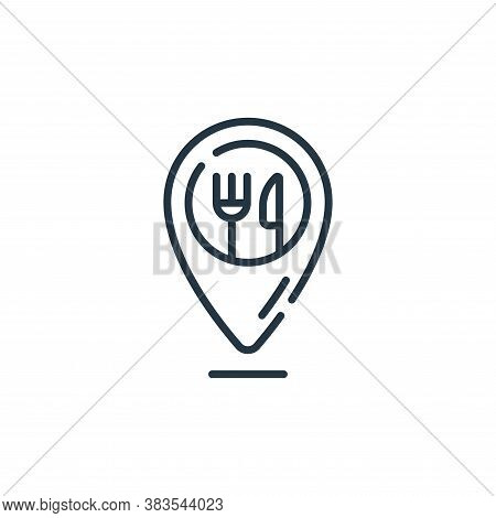 placeholder icon isolated on white background from restaurant collection. placeholder icon trendy an