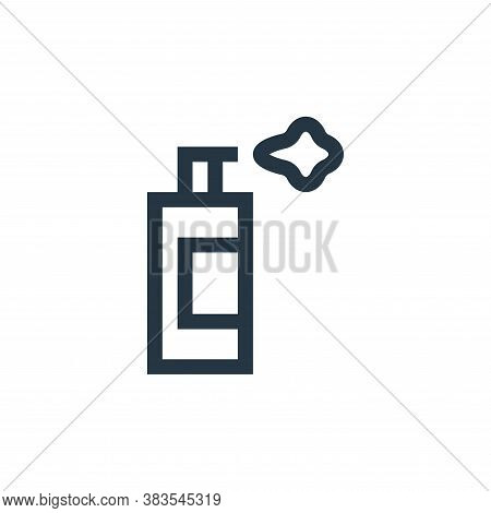 paint spray icon isolated on white background from handcrafts collection. paint spray icon trendy an