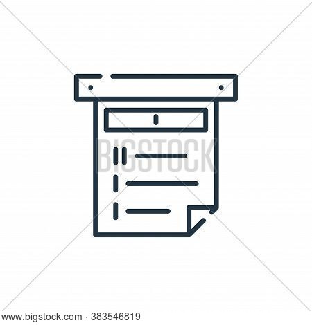 order icon isolated on white background from restaurant collection. order icon trendy and modern ord