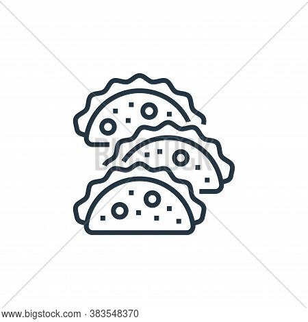 food icon isolated on white background from brazilian carnival collection. food icon trendy and mode