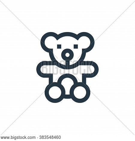teddy icon isolated on white background from handcrafts collection. teddy icon trendy and modern ted