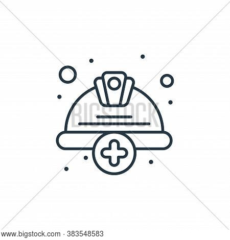 hat icon isolated on white background from labour day collection. hat icon trendy and modern hat sym