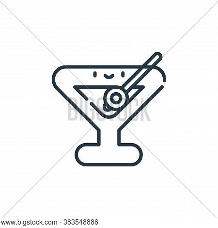 drink icon isolated on white background from party and celebration collection. drink icon trendy and