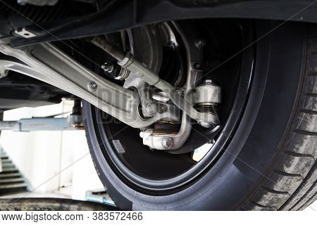 Elements And Design Of Suspension Of A Modern Car. Service And Spare Parts.