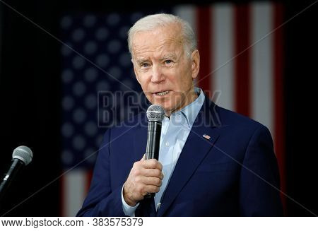 Washington Dc,united States,june 2020,democratic Party Presidential Candidate Joe Biden In Election