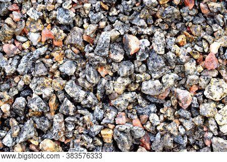 Fine Gravel For Use In Construction. Gravel.
