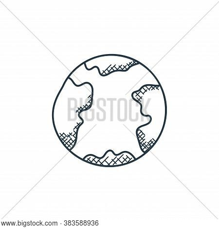 mars icon isolated on white background from space and aircraft collection. mars icon trendy and mode