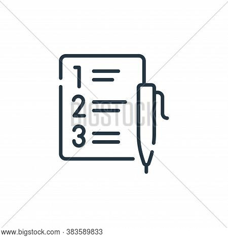 development plan icon isolated on white background from programming collection. development plan ico