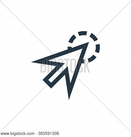 cursor icon isolated on white background from vector editing collection. cursor icon trendy and mode