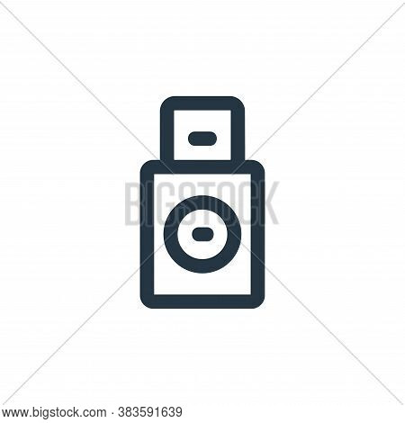 boot icon isolated on white background from disc tool line collection. boot icon trendy and modern b
