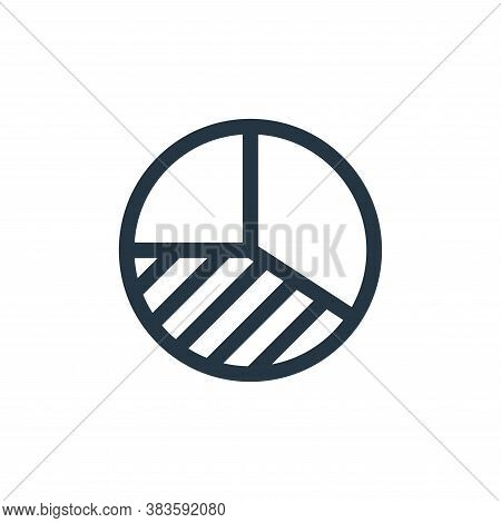 analytics icon isolated on white background from economy collection. analytics icon trendy and moder
