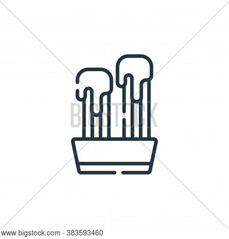 churros icon isolated on white background from fast food collection. churros icon trendy and modern
