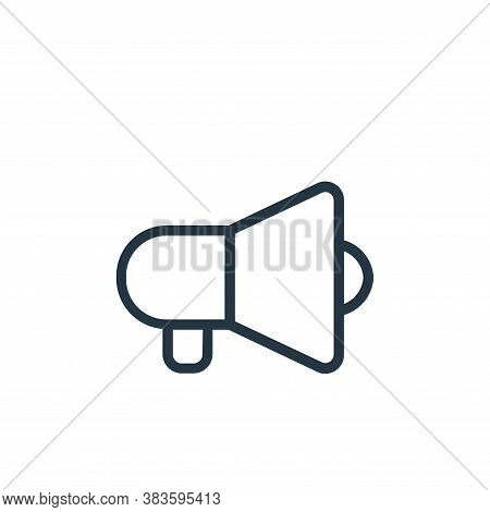 sound icon isolated on white background from seo collection. sound icon trendy and modern sound symb