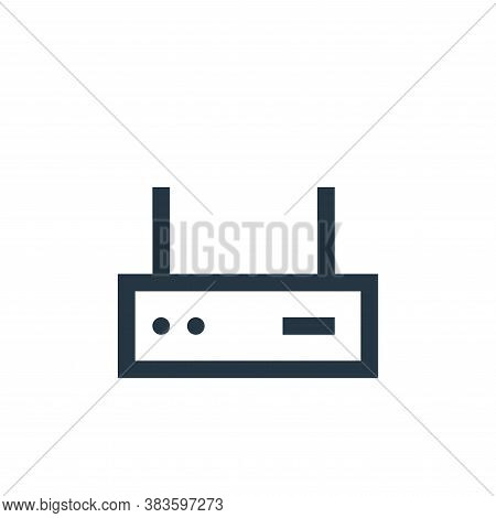 router icon isolated on white background from electronic collection. router icon trendy and modern r