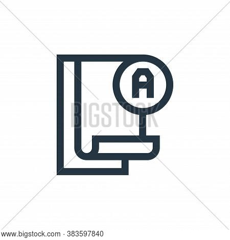 pass test icon isolated on white background from education collection. pass test icon trendy and mod