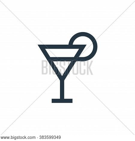 cocktail icon isolated on white background from mothers day collection. cocktail icon trendy and mod