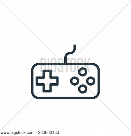joystick icon isolated on white background from computer collection. joystick icon trendy and modern
