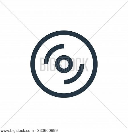cd player icon isolated on white background from electronic collection. cd player icon trendy and mo