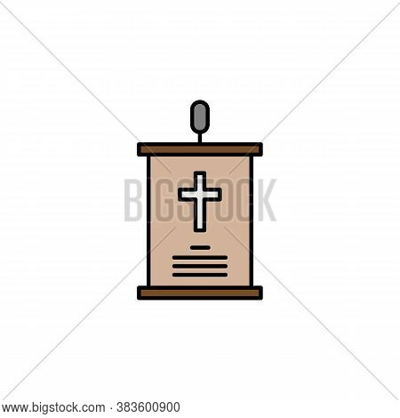 Speech, Death Outline Icon. Detailed Set Of Death Illustrations Icons. Can Be Used For Web, Logo, Mo