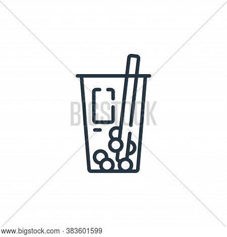 drink icon isolated on white background from fast food collection. drink icon trendy and modern drin