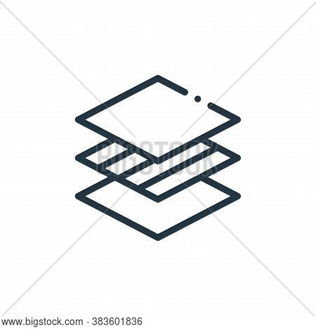 membrane icon isolated on white background from fabric features collection. membrane icon trendy and
