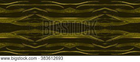 Seamless Safari Wallpaper. Fashion Cheetah Texture. Luxury Animal Skin Pattern. Watercolour Lines. T