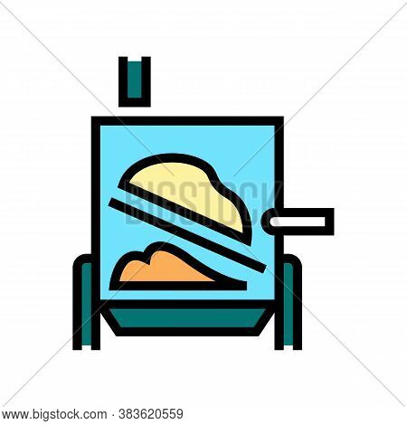 Evaporator System Color Icon Vector. Evaporator System Sign. Isolated Symbol Illustration