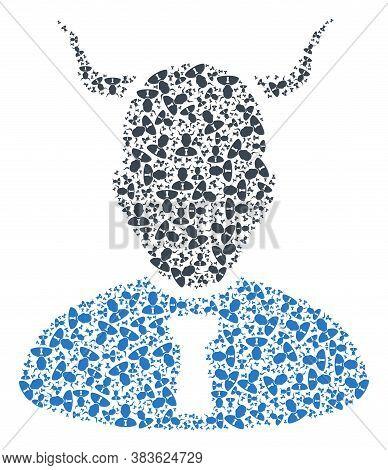 Vector Devil Composition Is Made From Randomized Recursive Devil Items. Recursive Combination From D