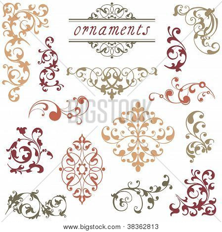 Victorian Scroll Ornaments