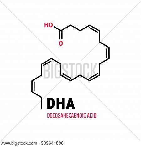 Dha, Docosahexaenoic Acid, Cervonic Acid An Essential Polyunsaturated Fatty Acid Of The Omega-3 Clas