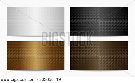 Color Earth Tone Geometric Triangle Background. Covers Design, Vector Illustration.