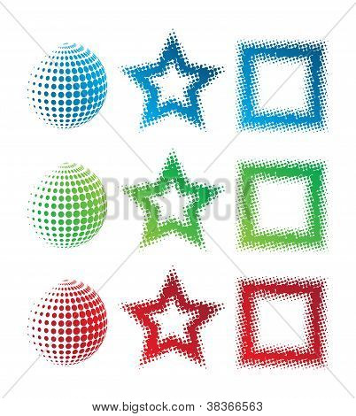 Pixelate Shapes