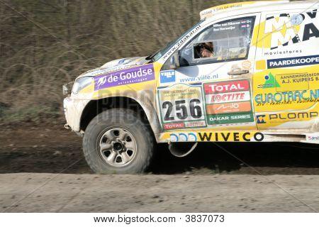 Toyota Rally Car Close Up