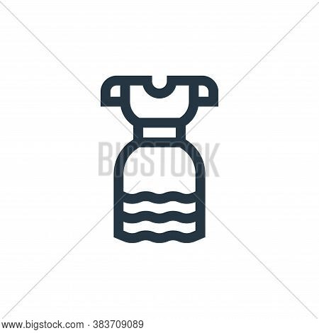 dress icon isolated on white background from cinco de mayo collection. dress icon trendy and modern