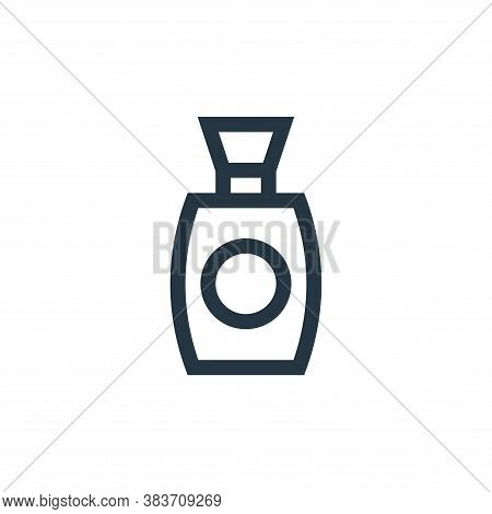 perfume icon isolated on white background from mothers day collection. perfume icon trendy and moder