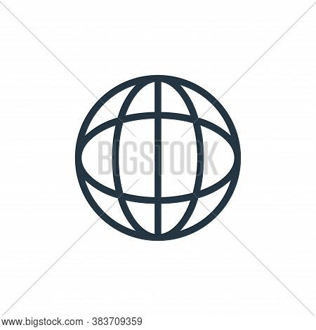 internet icon isolated on white background from seo collection. internet icon trendy and modern inte