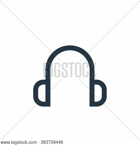 earphone icon isolated on white background from electronic collection. earphone icon trendy and mode