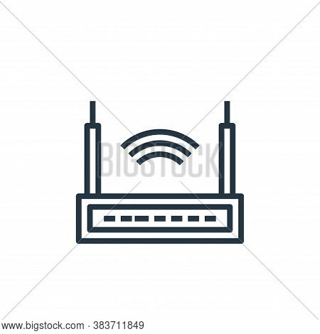 router icon isolated on white background from computer collection. router icon trendy and modern rou