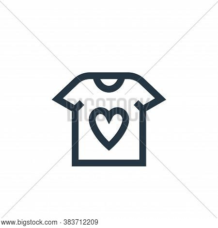 t shirt icon isolated on white background from mothers day collection. t shirt icon trendy and moder