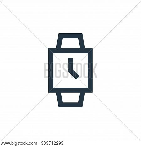 watch icon isolated on white background from electronic collection. watch icon trendy and modern wat