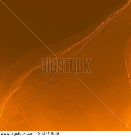 Vibrant Wallpaper. Liquid Background. Graphic Invitation. Yellow Vibrant Wallpaper. Acrylic Style. T