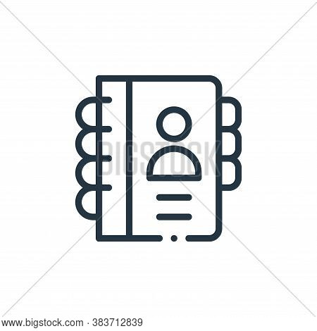 agenda icon isolated on white background from books collection. agenda icon trendy and modern agenda