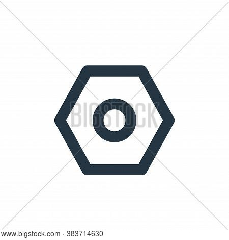 setting icon isolated on white background from basic ui collection. setting icon trendy and modern s