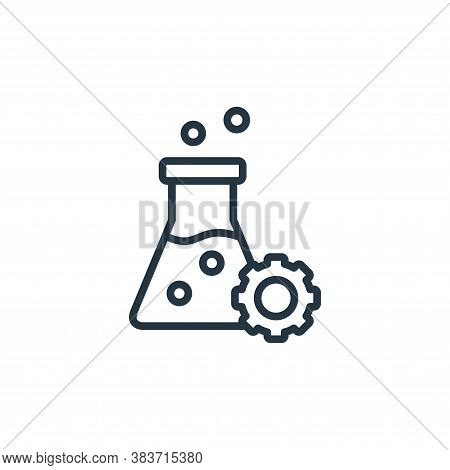 research icon isolated on white background from seo and website collection. research icon trendy and