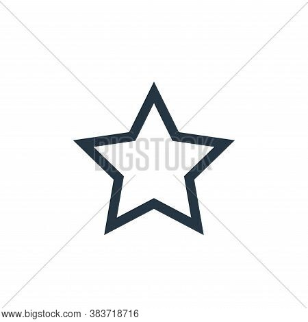 star icon isolated on white background from vector editing collection. star icon trendy and modern s