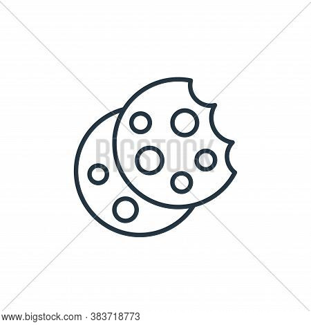 cookies icon isolated on white background from bakery collection. cookies icon trendy and modern coo