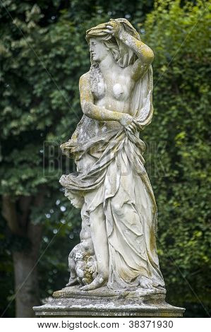 Luneville - Statue In The Park