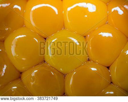 Bright Yellow Egg Yolks.   Bright Yellow Egg Yolks.