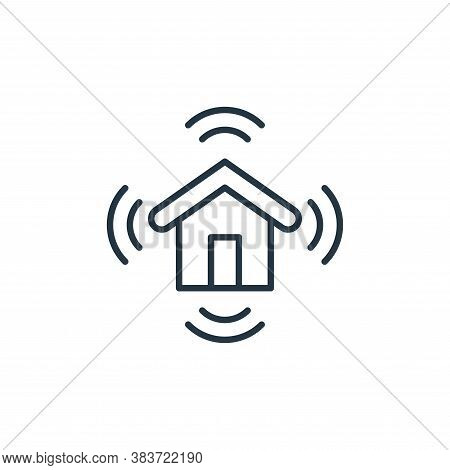 wifi icon isolated on white background from smarthome collection. wifi icon trendy and modern wifi s